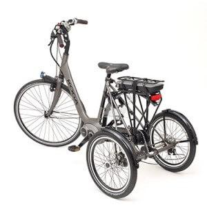Fiets ombouwen naar driewieler bij Green Drive de fiets ombouw specialist.