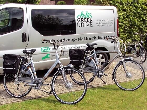 Green Drive Ombouwset elektrische fiets | e-bike kit de fiets ombouw specialist staat van 6 t/m 11 oktober op de Hiltho Horst