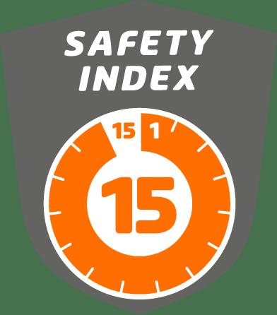 Safety index 15