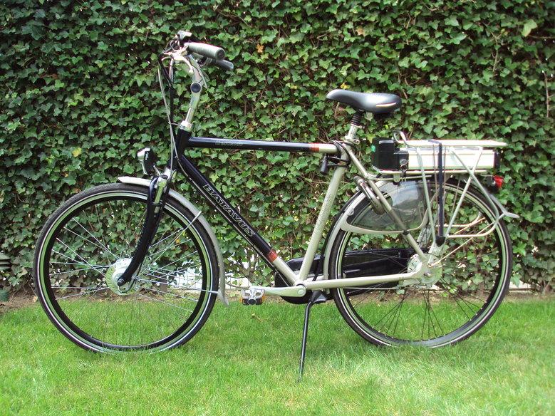 Batavus Cresendo met standaard Rollerbrake ombouwset.