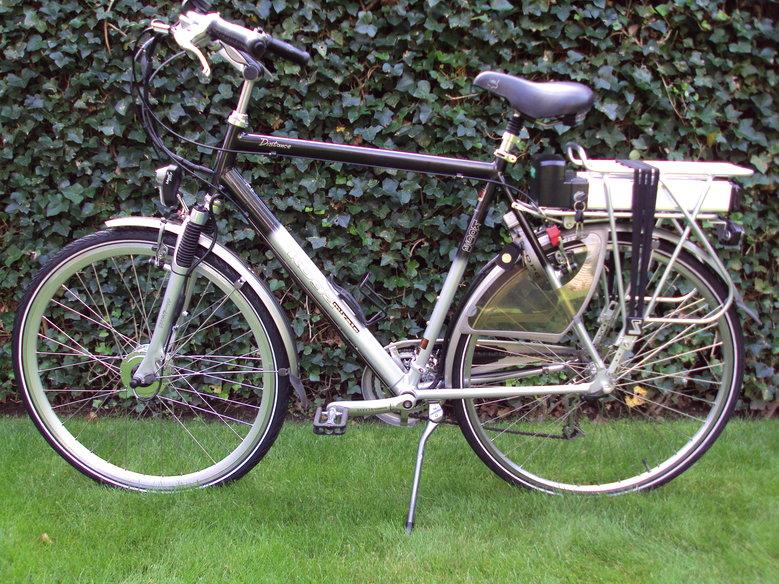 Kogamiyata Distance met standaard Rollerbrake ombouwset.