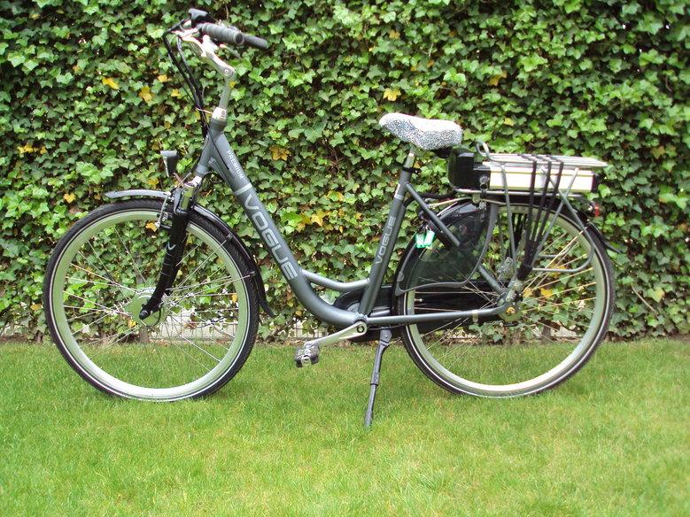 Vogue Premium Originele Elektrische fiets (ITEK en Marktplaats) pas 4 maanden oud Omgebouwd met Standaard Rollerbrake Ombouws