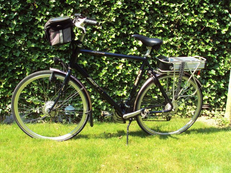 Altra Action Hybride met luxe Rollerbrake ombouwset.