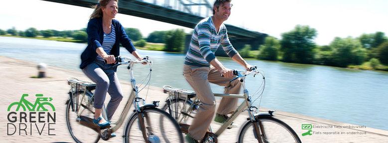 Fiets ombouwen naar elektrische fiets