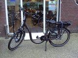 Trenergy Madeira elektrische fiets met extra lage instap linkerzijde