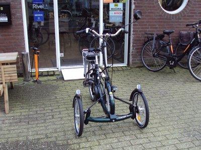 Viktoria driewielfiets middenmotor voorkant
