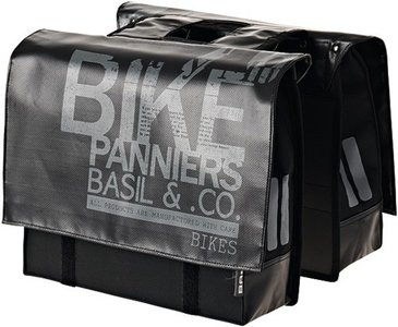 Basil dubbele fiets tas transport kits