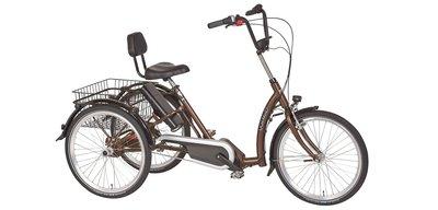 Beste PFAU-TEC elektrische driewieler PALERMO BAFANG EN-77