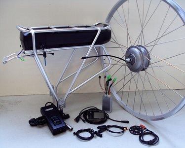Ombouwset elektrische fiets, ebike kit, comfort V-brake