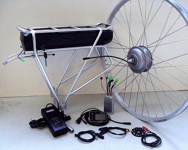 Ombouwset elektrische fiets, ebike kit Comfort Rollerbrake