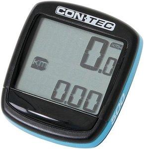 CONTEC FIETSCOMPUTER C500 Zwart/Neoblue