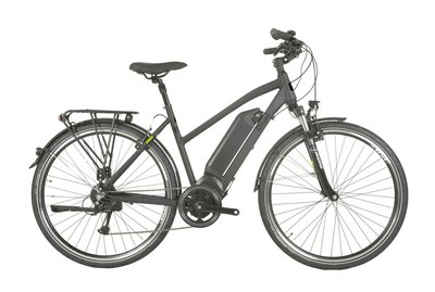 Rivel Aspen D50 e-bike AEG 8-speed mat zwart