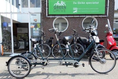 Van Raam Twinny Plus elektrische driewiel tandem rechts
